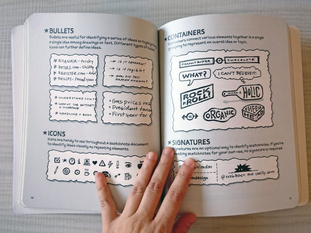 The Sketchnote Handbook: The Illustrated Guide to Visual Notetaking